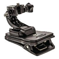 Perche - Support - Fixation CL-ACMK90 Kit de fixation pour Action Camera Rapide-Clip
