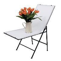 Perche - Support - Fixation KN-STUDIO50N Table a photo 120 x 50 cm - Blanc