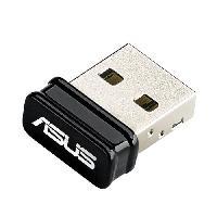 Peripherique Pc ASUS Adaptateur réseau USB-N10 NANO - USB 2.0 - 802.11b. 802.11g. 802.11n