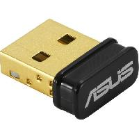 Peripherique Pc ASUS Cle WiFi USB N10NANO B1 N150 - Revetement plaque or