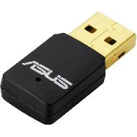 Peripherique Pc ASUS Cle WiFi USB N13 C1 N300 - Revetement plaque or