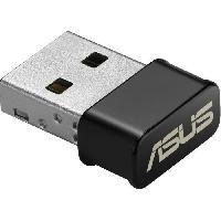 Peripherique Pc Adaptateur / Clé Wi-Fi USB 2.0 double bande AC1200 - USB AC53nano - Asus