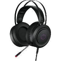 Peripherique Pc COOLER MASTER CH321 - Casque Gaming RGB (PC/PS4?/Xbox One). USB - Noir