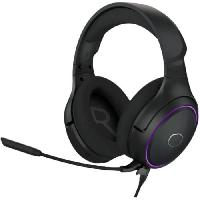 Peripherique Pc COOLER MASTER MH650 Casque Gaming RGB (PC/PS4?/Xbox One/Nintendo? Switch) Son Virtuel 7.1. USB - Noir