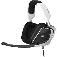 Peripherique Pc CORSAIR Casque Gamer VOID RGB ELITE USB - Filaire - Blanc (CA-9011204-EU)