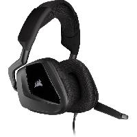 Peripherique Pc CORSAIR Casque gaming VOID ELITE STEREO - Carbon (CA-9011208-EU)