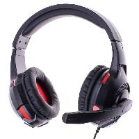 Peripherique Pc Casque Gaming double avec Micro FREAKS AND GEEKS Noir pour PS4/XBOX ONE/SWITCH