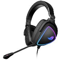 Peripherique Pc Micro-Casque Gamer ASUS ROG Delta S - USB-C - Ultraleger - RGB - Compatible PC. Nintendo Switch et Sony PlayStation