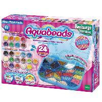 Perle - Bijoux - Badge AQUABEADS Mega Pack 2400 Perles