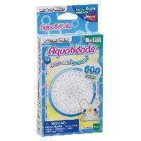 Perle - Bijoux - Badge AQUABEADS Perles Classiques Blanches