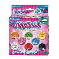 Perle - Bijoux - Badge AQUABEADS Perles classiques