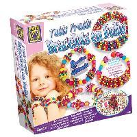 Perle - Bijoux - Badge BSM  -  Bracelets en folie Tutti Frutti
