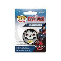 Perle - Bijoux - Badge Badge Funko Pop! Captain America Civil War - Crossbones
