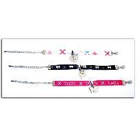 Perle - Bijoux - Badge CHACHA Kit de 3 bracelets Generique