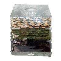 Perle - Bijoux - Badge PANDURO Paracordes 3 couleurs - Marron
