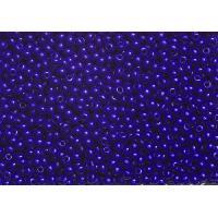 Perle - Bijoux - Badge PANDURO Perles de Rocailles - 2.5 a 2.8 mm de diametre - Trou 0.7 mm - Bleu cobalt fonce