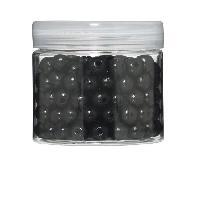 Perle - Bijoux - Badge PANDURO Perles en bois - Noir