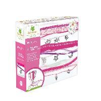 Perle - Bijoux - Badge SYCOMORE - Kit de loisir créatif enfant - Bracelets multi-rangs - 3 projets - DIY - Lovely Box Collector - Des 7 ans