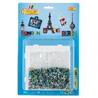 Perles A Repasser - Plaque Mini Blister GM Les Capitales
