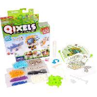 Perles A Repasser - Plaque QIXELS Mini Kit 4 Creations Monde Marin