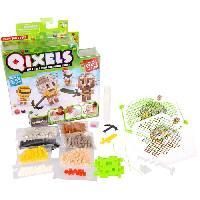 Perles A Repasser - Plaque QIXELS Mini Kit 4 Creations Theme Guerriers