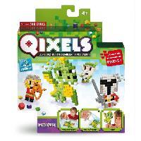 Perles A Repasser - Plaque QIXELS Mini Kit 4 Creations Theme Medieval