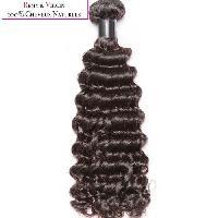 Perruque - Postiche - Faux Cheveux - Extensions - Colle Cheveux Tissage bresilien - Cheveux humains - Boucle 40cm - Noir naturel