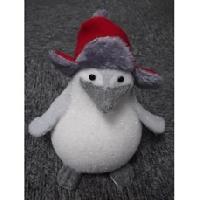 Personnages Et Animaux De Noel Pingouin blanc Madagascar debout