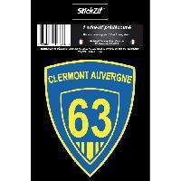 Personnalisation - Decoration Vehicule 1 Sticker Blason Clermont-Auvergne