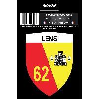 Personnalisation - Decoration Vehicule 1 Sticker Blason Lens Generique