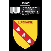 Personnalisation - Decoration Vehicule 1 Sticker Region Lorraine - STR6B