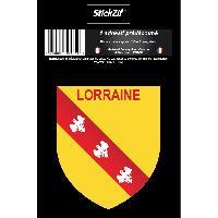 Personnalisation - Decoration Vehicule 1 Sticker Region Lorraine - STR6B Generique