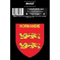 Personnalisation - Decoration Vehicule 1 Sticker Region Normandie - STR3B Generique
