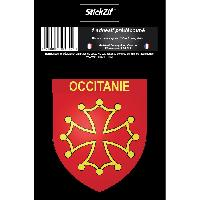 Personnalisation - Decoration Vehicule 1 Sticker Region Occitanie - STR10B - ADNAuto