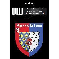 Personnalisation - Decoration Vehicule 1 Sticker Region Pays de la Loire - STR9B