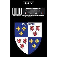 Personnalisation - Decoration Vehicule 1 Sticker Region Picardie - STR7B Generique