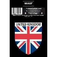 Personnalisation - Decoration Vehicule 1 Sticker Region United Kingdom - STP5B