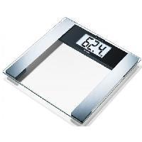 Pese-personne - Impedancemetre - Balance 769.25 Pese-personne impedancemetre en verre
