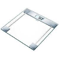 Pese-personne - Impedancemetre - Balance SANITAS 755.19 Pese-personne en verre
