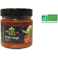 Pesto DIVIN BIO Pesto rouge bio - 150 g