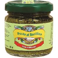 Pesto PESTO et PIU' Pesto au Basilic - 95 g