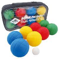 Petanque - Bowling SCHILDKROT Boule Pétanque Fun Boccia Set