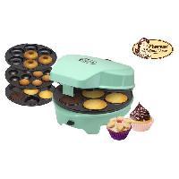 Petit Appareil De Cuisson ASW238 Appareil a cupcakes - Jusqu'a 7 en meme temps - Vert Pastel