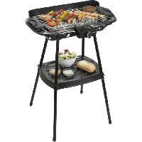 Petit Appareil De Cuisson BESTRON AJA902S Barbecue sur pieds - Noir