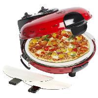 Petit Appareil De Cuisson BESTRON DLD9070 Four a pizza - Rouge
