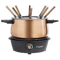 Petit Appareil De Cuisson Bestron Ensemble de fondue AFD850CO 1500 W 1.5 L Cuivre