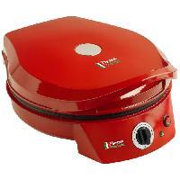 Petit Appareil De Cuisson Machine a pizza / Gril de table Bestron APZ400 1800 W rouge
