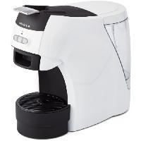 Petit Dejeuner - Cafe ARIETE 1301 Machine a café espresso + dosette ESE - 1100 W - 15 Bars - Blanc