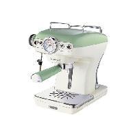 Petit Dejeuner - Cafe ARIETE 1389 Machine expresso classique Vintage - Vert