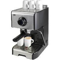 Petit Dejeuner - Cafe BEKO CEP5152B - Machine expresso classique 1200W - Réservoir 1.2L - Buse vapeur orientable 360° - 15 bar - Noir et Inox